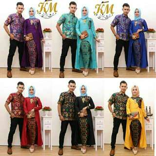 Batik Muslimah Gamis