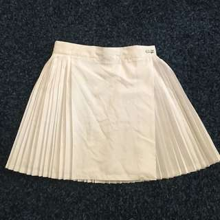 White Netball Umpire Skirt size adjustable