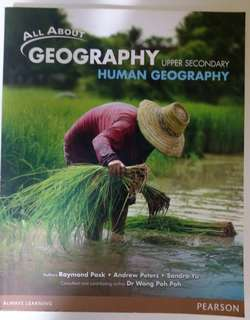 Upper Secondary (3/4) Human Geography Textbook