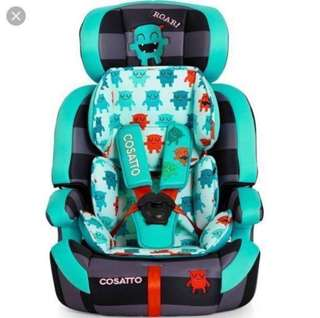 Cossatto Car Seat - Cuddle Monster