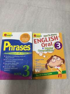 English oral & model compo book n guide book $5 each