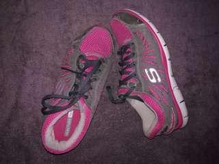 Skechers Flex, Walking Rubber Shoes