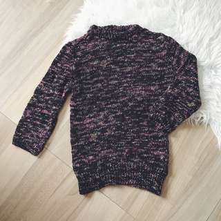 Zara Jumper with Cropped Sleeves