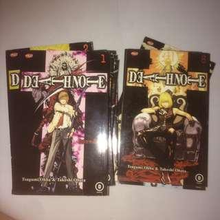 komik Death Note lengkap 1-12