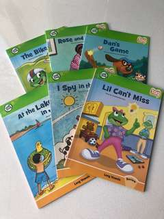 Leap frog Tag books