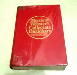 Merriam Webster Dictionary with FREE 1 encyclopedia book