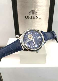 * FREE DELIVERY * Brand New 100% Authentic Orient Ladies Automatic Dress Watch Blue Moon DB0A009D