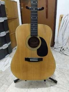 Morris w-20 acoustic guitar
