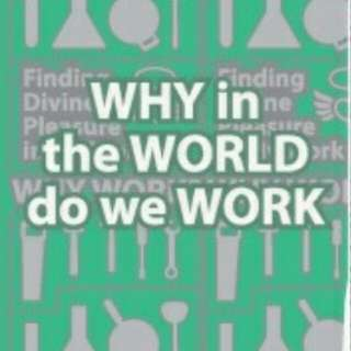 """Benny Ho DVD titled """"Why in The World Do We Work"""" ( with Workbook attached inside)"""