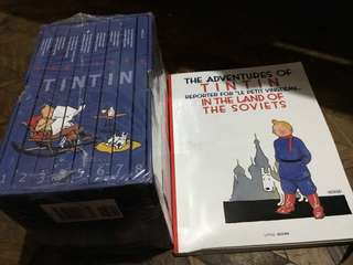 tintin comics set