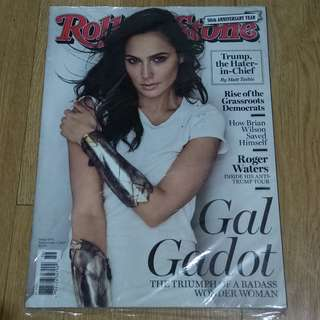 Gal Gadot on the cover of Rolling Stone