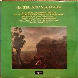 Handel Acis and Galatea ASMF & Marriner ARGO ZRG 886-7 2-LP album