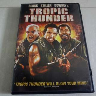 Tropic Thunder Original Movie DVD