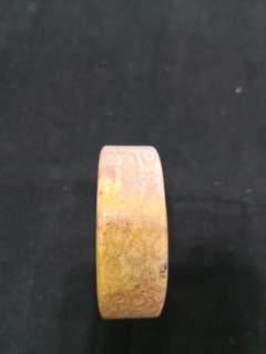 🚚 小手圍52mm粉金色珊瑚玉鐲