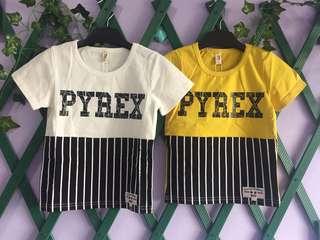Kaos anak pyrex