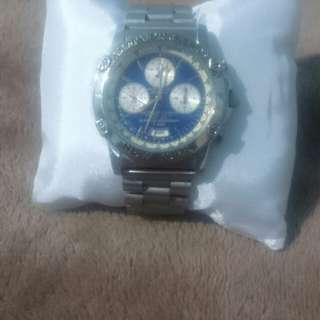 Jam tangan second import A.G.SPALDING BROS 520 Chrono wristwatch N944-6A20
