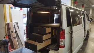 custom bulit interior fo van / car/ lorry