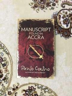 Manuscript found in Accra by Paulo Coelho - English Novel