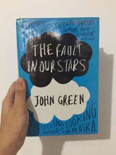 The Fault In Our Stars by John Green Hardbound