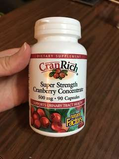 Cran Rich Super Strength Cranberry Concentrate 90 粒