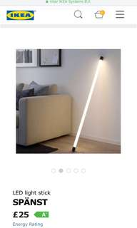 LOOKING FOR SPANST STAMPD IKEA LIGHT