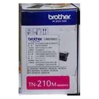 Brother TN-210M原廠紅色碳粉匣 適用:MFC-9010CN 9120CN/HL-3040CN
