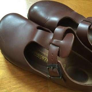 勃肯鞋Birkenstock Pairs 經典酒紅 37