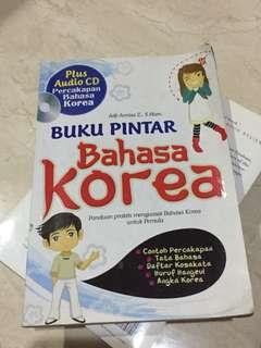 Buku pintar bahasa korea