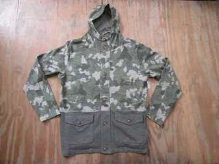 Jaket fashion camo army