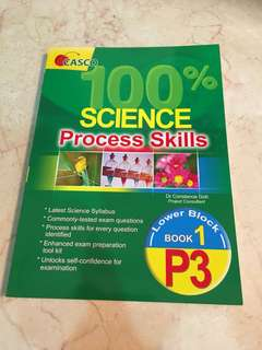 New Science Assessment Book Pri 3