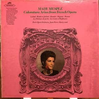 Mady Mesple Coloratura Arias from French Opera EMI S-60215