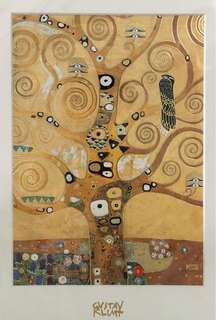 Print Gustav Klimt Tree of Life painting