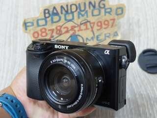 Sony A6000 Kit 16-50mm Mirrorless Cicilan Tanpa CC Proses Cepat Guys