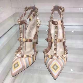 Valentino high heel 彩虹高跟鞋 36