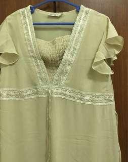 Free Shipping Used Maternity Long Dress