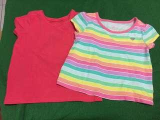 Baby Shirts & Summer Hat