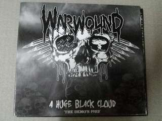 Music CD: Warwound ‎– A Huge Black Cloud: The Demos 1983 - U.K. Hardcore/Punk band