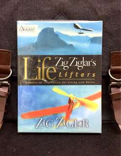 《New Book Condition + Positive Booster For Attitude & Enjoyment Of Life》Zig Ziglar - ZIG ZIGLAR'S LIFE LIFETERS : Moments Of Inspiration For Living Life Better