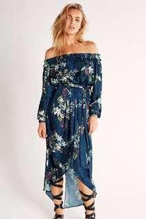 Sheike In Bloom Maxi Dress Size 6