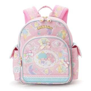 Sanrio 日本正版 Little Twin Stars 雙子星 小熊系列 兒童 背囊 背包 Backpack 6L