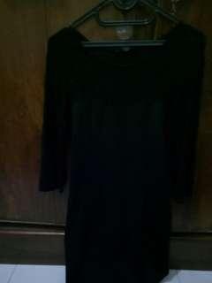 Preloved dress hitam