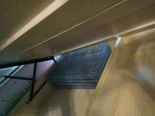 層架 17吋 x 29吋 有8塊 可組合為兩個架