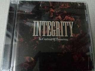 Music CD: Integrity –In Contrast Of Tomorrow - Metallic Hardcore Legends