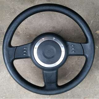 Proton persona gen2 original multifunction steering with airbag