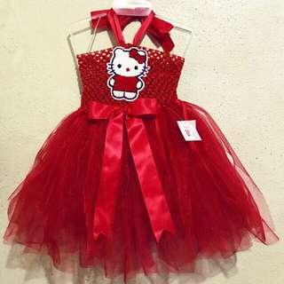 Hello Kitty Red Tutu Dress