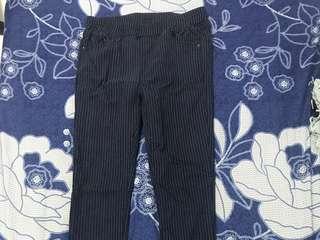 細條紋長褲👖