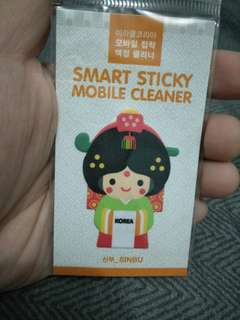 Brand New Screen Cleaner Sticker from S.Korea