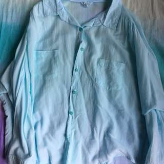 Aeropostale long sleeved button up shirt