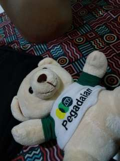 Boneka teddybear pegadaian