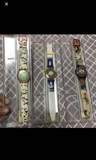 Vintage swatch old brand new